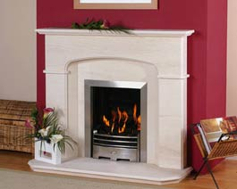 Newman Limestone Fireplaces